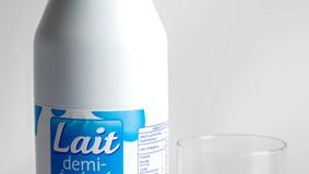 Bouteilles de lait • Boycottez le PET opaque !