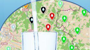 Carte interactive de l'eau du robinet – Les pesticides se la coulent douce !