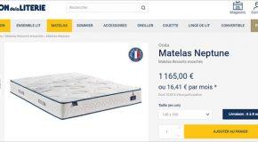 Matelas – Que penser de la location avec option d'achat ?