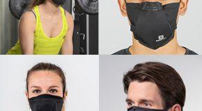 Covid-19 – Prise en main de 4 masques pour le sport